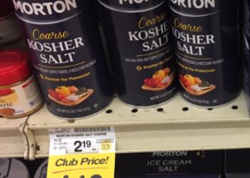 Morton Kosher Salt Coupon