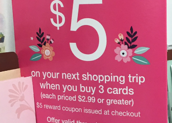 Mother's Day Card Promotion – Receive a $5.00 Catalina Coupon