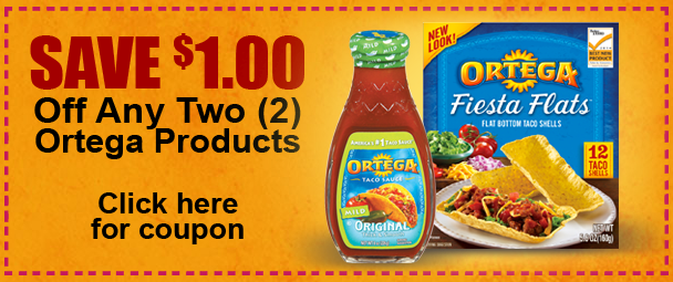 Ortega Coupon