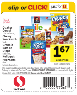 Our Free Quaker Coupons and Printables for December will save you and your family money. Find more savings for Quaker at indianheadprimefavor.tk