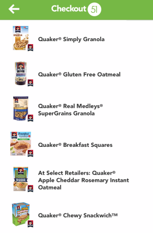 Quaker Coupon