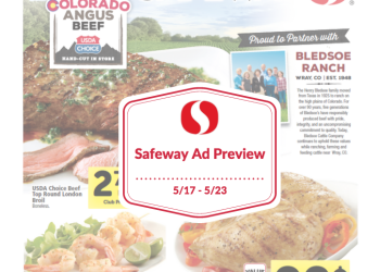 Safeway Weekly Ad Preview 5/17 – 5/23