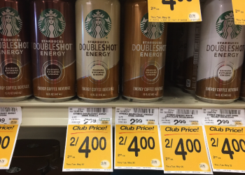 Starbucks Doubleshot Coupon, Pay $1.50 – Save 50%