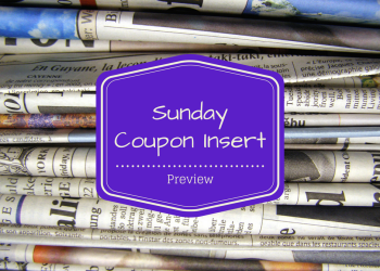 Sunday Coupon Preview 5/7 – 4 Inserts