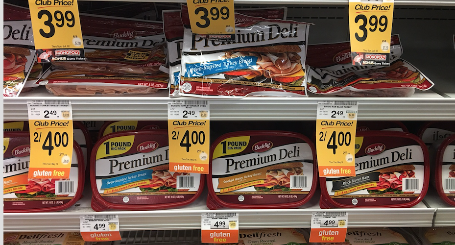 Buddig Premium Deli Meat Just 1 00 At Safeway With Coupon Super Safeway