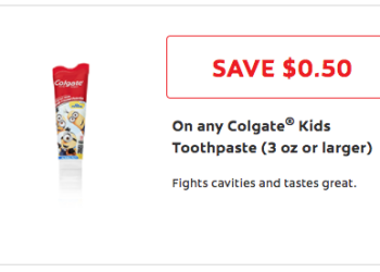 colgate kids toothpaste coupon