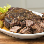 peppered cross rib roast