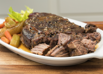 Peppered Cross Rib Roast Recipe