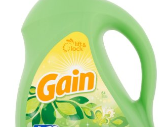 New $3.00 off Tide or Gain Coupon – Get Gain Detergent 100 oz Just $7.99 With New Coupon and Sale