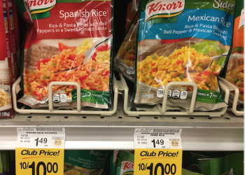 New Knorr Sides Coupon, Pay just $.75 Each, Save 50%
