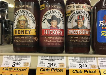 New! Newman's Own BBQ Sauce Just $1.00 With Sale and Coupon