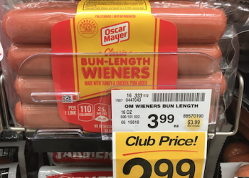 New Oscar Mayer Hot Dogs Coupon – Pay Just $1.99 at Safeway With Sale, Save 50%