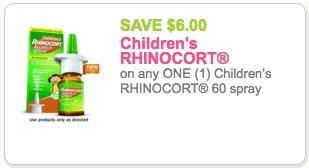 rhinocort coupon