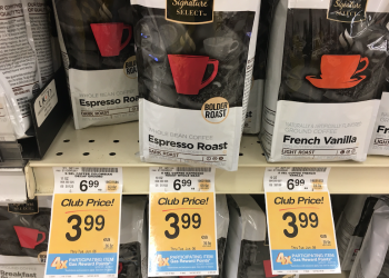 Signature SELECT Coffee Bags Just $2.74 Each With Sale and Coupon