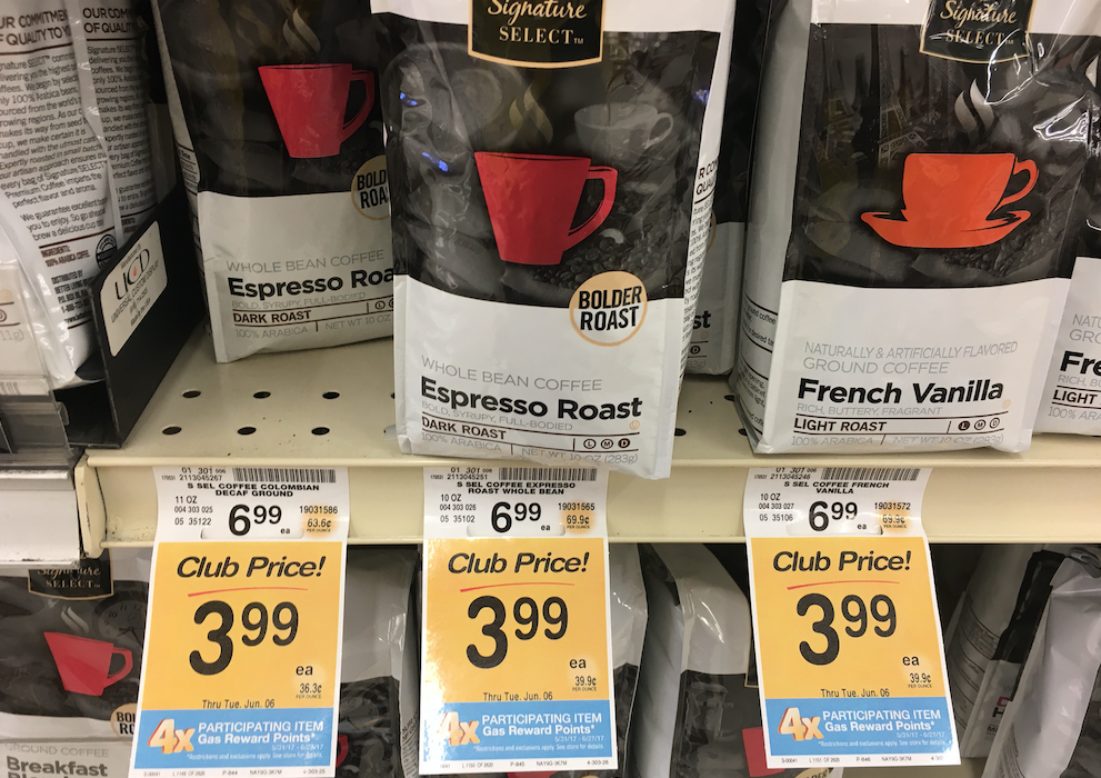 Signature Select Coffee Bags Just 2 74 Each With Sale And