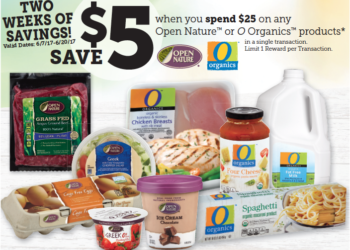 HOT $5 off O Organics or Open Nature Products at Safeway Round-up of all Organic and Natural Sales