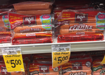 Bar-S Franks Coupon, Only $0.75 a Package
