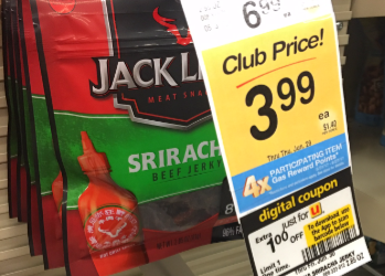 Turkey and Beef Jerky For as Low as $2.99