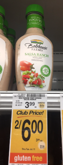 Bolthouse Farms Salad Dressing