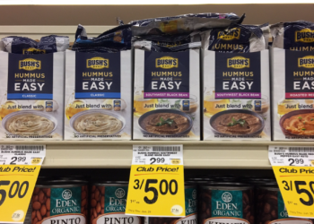 Pay $0.62 for Bush's Hummus Made Easy – Save Up To 79%!
