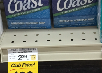 Coast Bar Soap Deal – Pay as Low as $0.49 For a 3 Pack