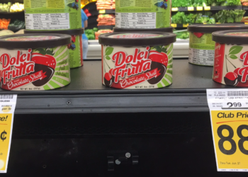 Dolci Frutta For Just $0.88