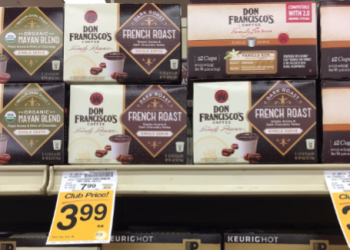 Save Up To 75% on Don Francisco Coffee, Pay as Low as $1.99