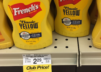 French's Coupon, Pay as Low as $0.99 for Classic Yellow Mustard