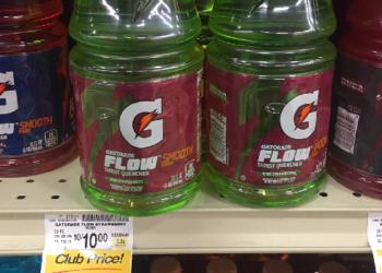 Gatorade Flow as Low as $0.44 and Other Gatorade Drinks $0.69