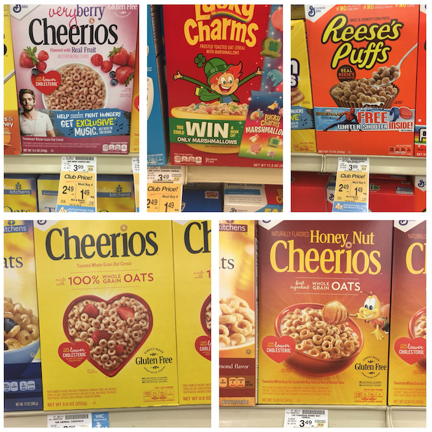 Cheerios And Other General Mills Cereals Just $.49 With