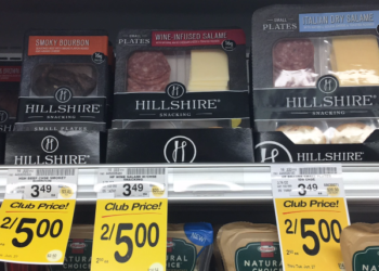 Hillshire Snacking Small Plates For as Low as $0.75