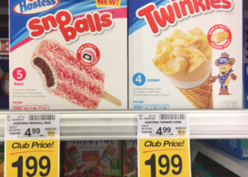 Hostess Ice Cream Bars and Cones on Sale, Only $1.99