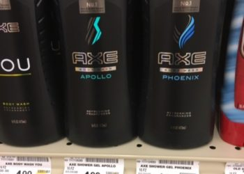 Axe Body Wash for only $2.99