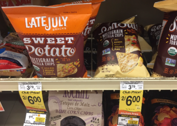LateJuly Tortilla Chips for $1.99