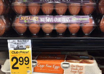 Nellie's Eggs Coupon and Sale, Pay $1.99 for Free Range Eggs