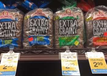 Oroweat Extra Grainy Bread Deal, Only $1.99