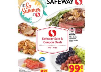 Safeway Sale and Coupon Matchups 7/5 – 7/11