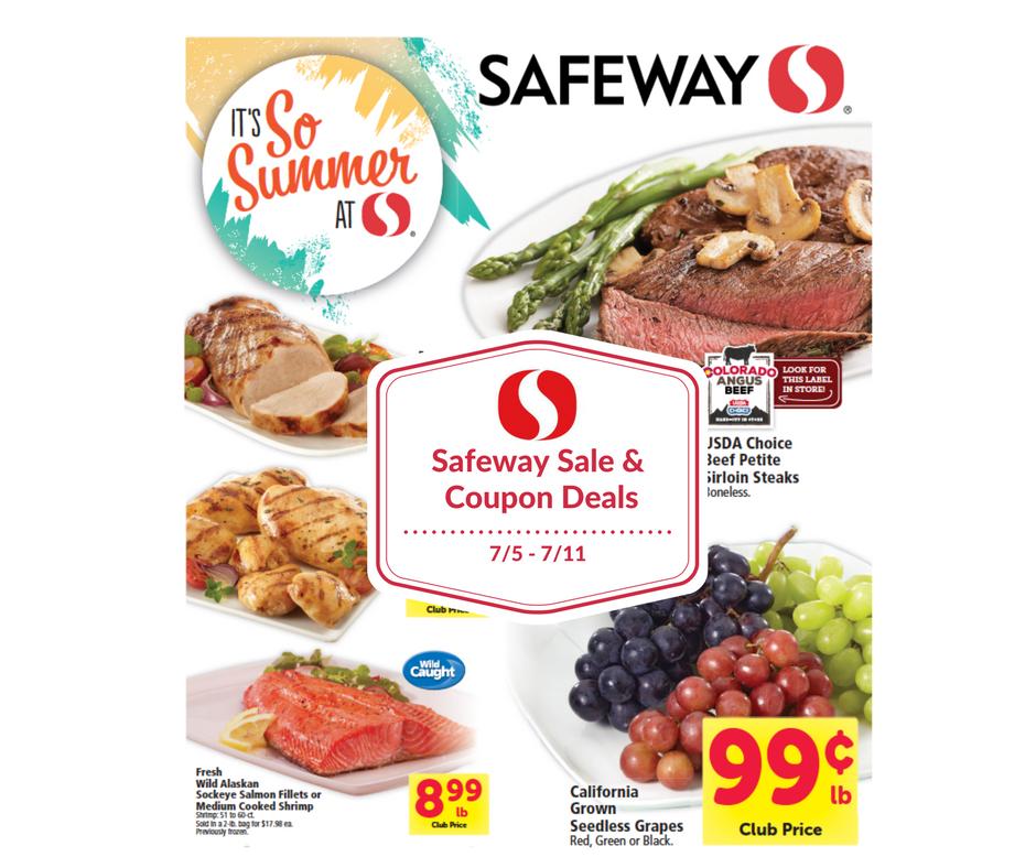 Safeway sale and coupon matchups