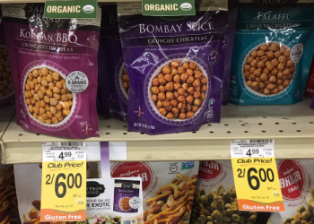 Saffron Road Coupon, Pay $1.50 for Crunchy Chickpeas