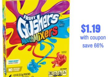 Save on Betty Crocker Fruit Snacks, Only $1.19 Each With Coupon