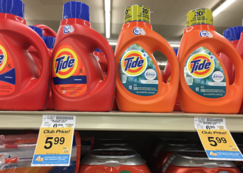 Tide Detergent Just $3.99 With Coupon, Save 43%