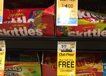 Starburst and Skittles Coupon, Only $0.40 for Candy