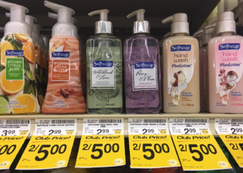 Softsoap Coupon, Pay $1.50 for Hand Wash Plus Lotion