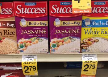 Success Rice Coupon, Pay $1.79 – $0.45 Per Serving