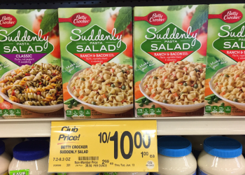 Free Suddenly Salad at Safeway With New Coupon