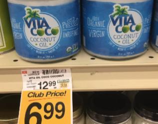 Vita Coco Coconut Oil on Sale For $6.99