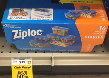14 Pack Ziploc Containers for $3.24, Save 57%