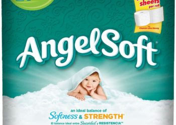 Stock up on Angel Soft 12 Double Rolls Toilet Paper, Just $3.09 With Coupons