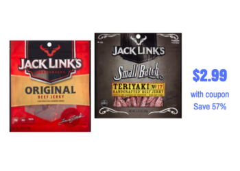 Jack Links Jerky Just $2.99 With Coupon at Safeway
