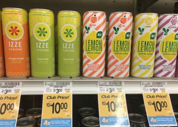 FREE Lemon Lemon and Izze Fusion Drinks at Safeway